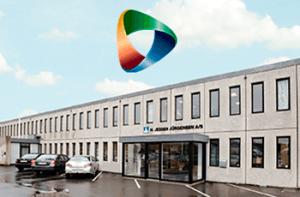 SmartReservation logo og H. Jessen Jürgensen bygning