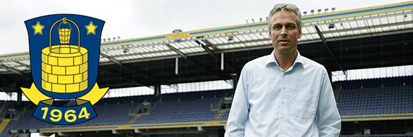 Jesper Jørgensen, administrerende direktør hos Brøndby IF