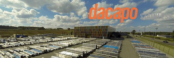 Dacapo lager og bygning