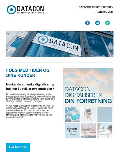 Datacon nyhedsbrev januar 2018