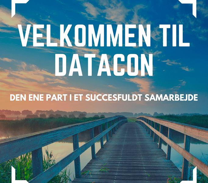 Bro og Velkommen til Datacon