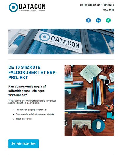 Datacon nyhedsbrev maj 2018