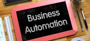 Business Automation skilt