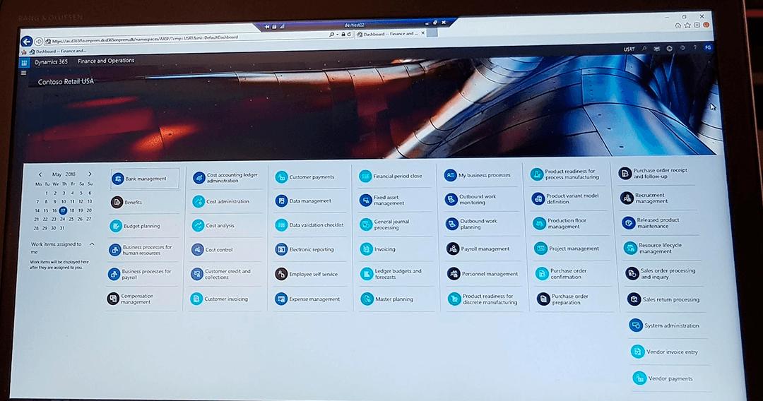 Optag dine arbejdsprocesser direkte i Microsoft Dynamics 365