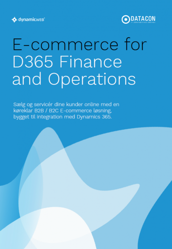 E-commerce for Microsoft Dynamics 365 whitepaper