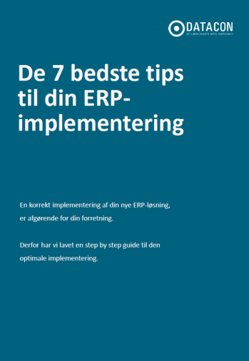 ERP-implementering whitepaper