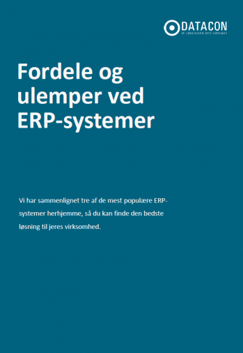 Fordele og ulemper ved ERP-systemer