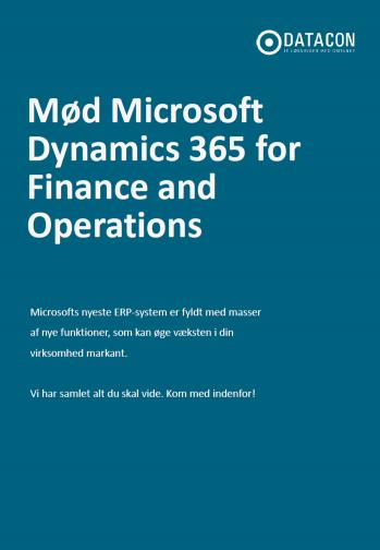 Microsoft Dynamics 365 whitepaper