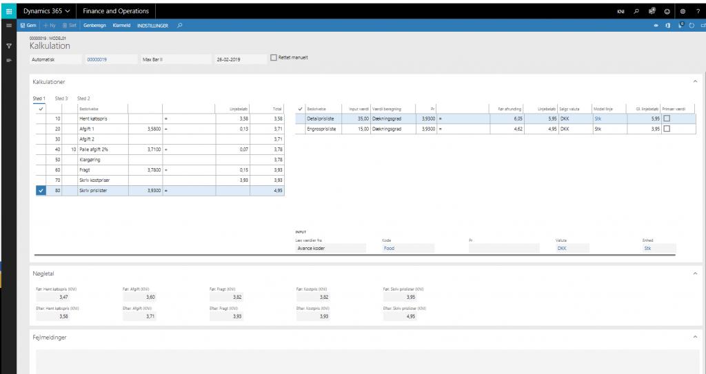 Skab bedre og mere korrekte avancer med Datacon Priskalkulation